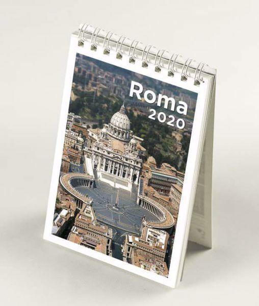 Calendario Da Scrivania 2020.Mini Calendario Da Tavolo 2020 Roma San Pietro Cm 9x13