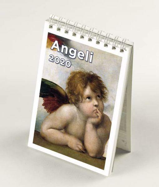 Immagine di Mini Calendario da tavolo 2020 Angeli cm 9x13