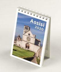 Picture of Assisi 2020 desk mini calendar cm 9x13 (3,5x5,1 in)
