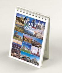 Immagine di Italy Italia 2020 desk mini calendar cm 9x13 (3,5x5,1 in)