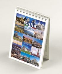 Imagen de Italy Italia 2020 desk mini calendar cm 9x13 (3,5x5,1 in)