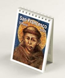 Imagen de Assisi and St. Francis 2020 desk calendar cm 9x13 (3,5x5,1 in)