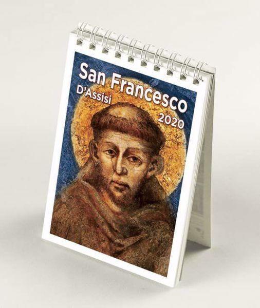 Immagine di Assisi and St. Francis 2020 desk calendar cm 9x13 (3,5x5,1 in)