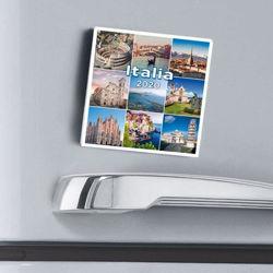 Picture of Italia Calendario magnetico 2021  cm 8x8