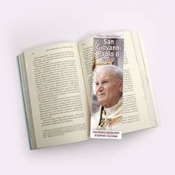 Picture of St. John Paul II 2020 bookmark calendar cm 6x20 (2,4x7,9 in)