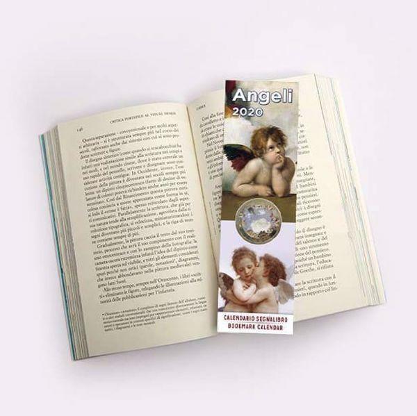 Immagine di Angels 2020 bookmark calendar cm 6x20 (2,4x7,9 in)