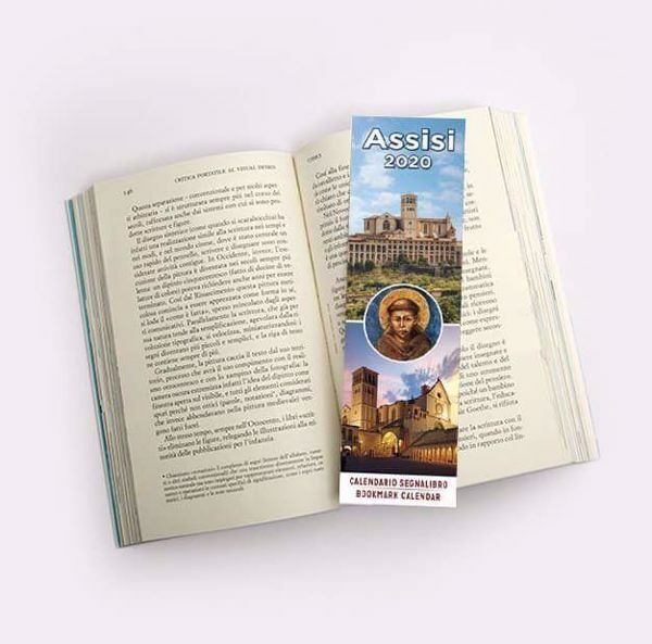 Picture of Assisi 2020 bookmark calendar cm 6x20 (2,4x7,9 in)