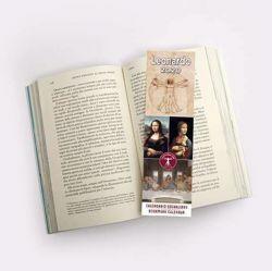 Immagine di 2020 bookmark calendar Leonardo da Vinci cm 6x20 (2,4x7,9 in)