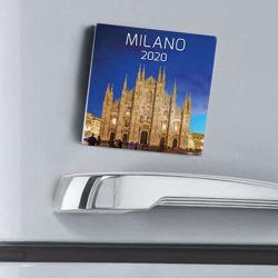Picture of Calendario magnetico 2021 Milano multiplo cm 8x8
