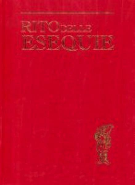 Immagine di Nuovo Rito delle Esequie Edizione Maggiore Grande Rituale Romano
