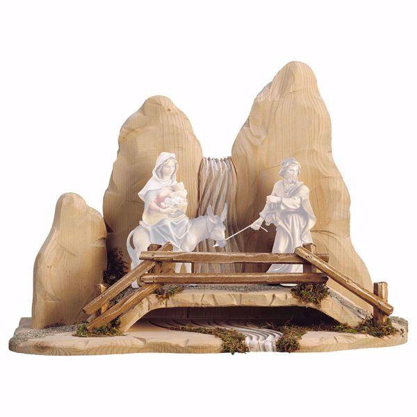 Picture of Bridge cm 23 (9,1 inch) for Ulrich Nativity Scene in Val Gardena wood