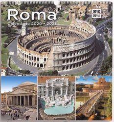 Immagine di Calendario da muro 2020-2021 Monumenti di Roma cm 31x33