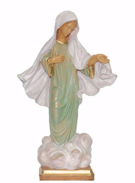 Immagine di Madonna di Medjugorje cm 25 (9,8 inch) Statua Euromarchi in plastica PVC per esterno