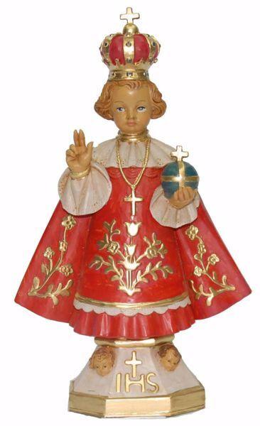 Imagen de Niño Jesús de Praga cm 25 (9,8 inch) Estatua Euromarchi en plástico PVC para exteriores