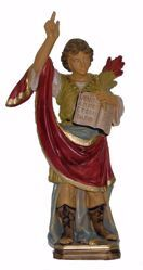 Picture of Saint Pancras cm 25 (9,8 inch) Euromarchi Statue in plastic PVC for outdoor use