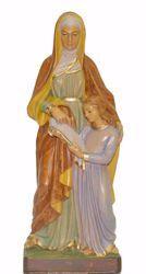 Imagen de Santa Ana cm 25 (9,8 inch) Estatua Euromarchi en plástico PVC para exteriores