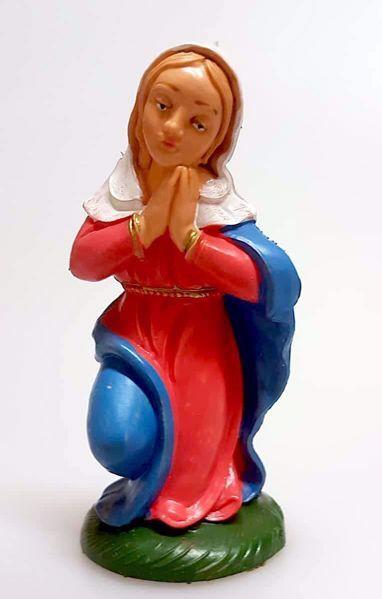 Immagine di Madonna / Maria cm 10 (3,9 inch) Presepe Pellegrini Colorato Statua in plastica PVC Arabo tradizionale piccolo per interno esterno
