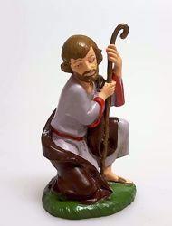 Immagine di San Giuseppe cm 11 (4,3 inch) Presepe Pellegrini Colorato Statua in plastica PVC Arabo tradizionale piccolo per interno esterno