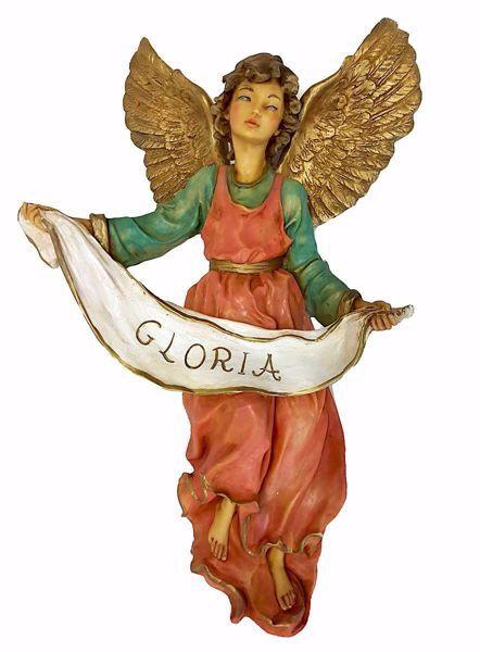Imagen de Ángel Gloria cm 50 (19,7 inch) Belén Pellegrini árabe tradicional Estatua grande en Resina Oxolite  uso en interior exterior