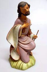 Immagine di San Giuseppe cm 30 (11,8 inch) Presepe Pellegrini in Resina Oxolite Arabo tradizionale Statua grande per interno esterno