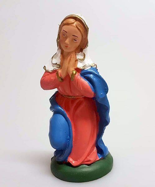Immagine di Madonna / Maria cm 12 (4,7 inch) Presepe Pellegrini Colorato Statua in plastica PVC Arabo tradizionale piccolo per interno esterno