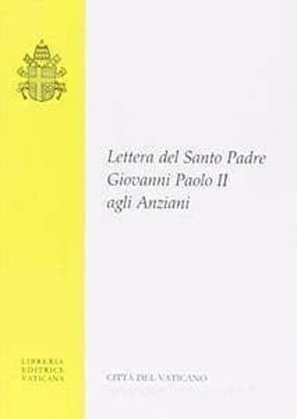 Picture of Lettera del Santo Padre agli Anziani. 1 ottobre 1999, Formato Tascabile