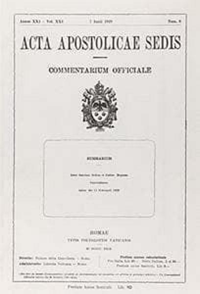 Immagine di Trattato e Concordato fra la Santa Sede e l' Italia. 1929, ristampa 2005