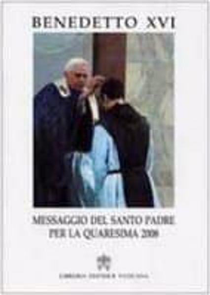 Immagine di Messaggio del Santo Padre per la Quaresima 2006
