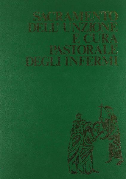 Picture of Sacramento dell' Unzione e cura pastorale degli infermi Edizione Maggiore Rituale Romano