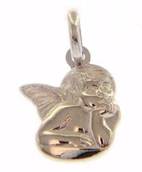 Picture of Angel of Raphael Pendant gr 1,5 White Gold 18k for Woman, Boy and Girl