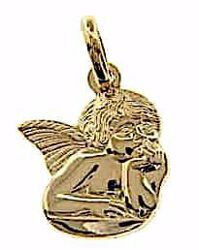 Picture of Angel of Raphael Pendant gr 1,8 Yellow Gold 18k for Woman, Boy and Girl