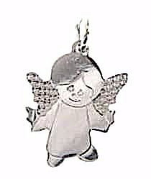 Picture of Guardian Angel Pendant gr 1,1 White Gold 18k for Children (Boys and Girls)