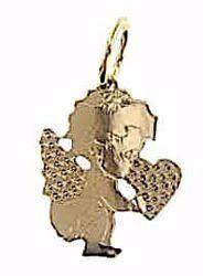Imagen de Ángel de la Guarda Colgante gr 0,95 Oro amarillo 18kt para Niño y Niña