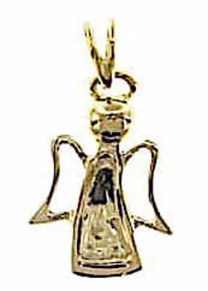 Imagen de Ángel estilizado Colgante gr 1,15 Oro amarillo 18kt para Niño y Niña