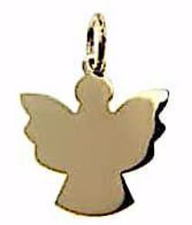 Picture of Angel Silhouette Pendant gr 0,6 Yellow Gold 18k for Children (Boys and Girls)