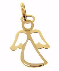 Picture of Stylized Guardian Angel Pendant gr 1,55 Yellow Gold 18k for Children (Boys and Girls)