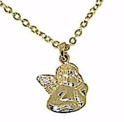 Picture of Crew-neck Necklace Angel of Raphael gr 2 Yellow Gold 18k for Woman