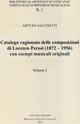 Imagen de Catalogo ragionato delle composizioni di Lorenzo Perosi (1872-1956) con esempi musicali originali 4 volumi Arturo Sacchetti