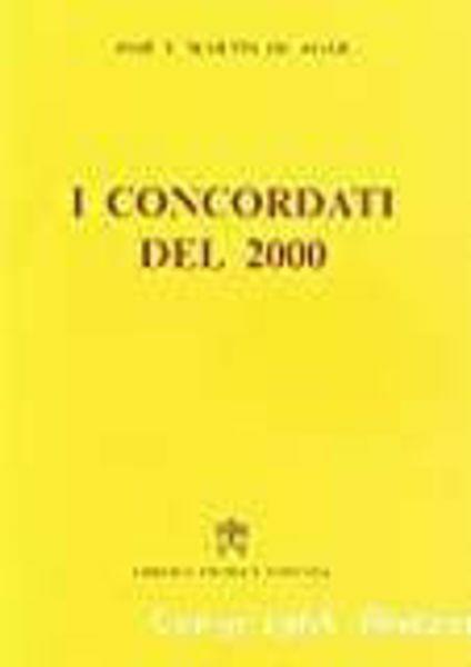 Imagen de Raccolta di concordati. I concordati del 2000 José Tomás Martín De Agar