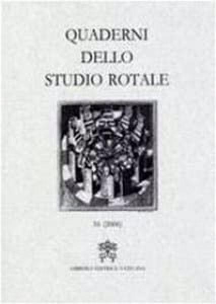 Imagen de Quaderni dello Studio Rotale, Vol. 9 (2002) Tribunale della Rota Romana