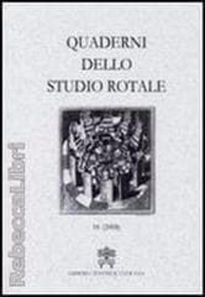 Imagen de Quaderni dello Studio Rotale, Vol. 10 (2003) Tribunale della Rota Romana