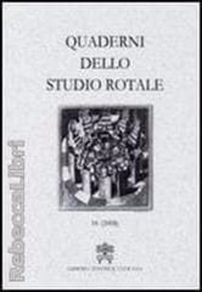 Imagen de Quaderni dello Studio Rotale, Vol. 11 (2004) Tribunale della Rota Romana