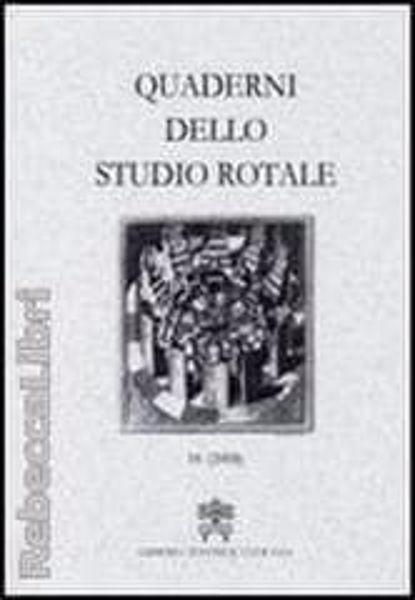 Imagen de Quaderni dello Studio Rotale, Vol. 12 (2005) Tribunale della Rota Romana