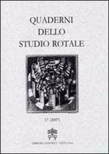 Imagen de Quaderni dello Studio Rotale, Vol. 14 (2007) Tribunale della Rota Romana