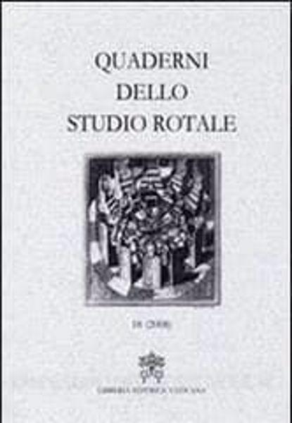 Imagen de Quaderni dello Studio Rotale, Vol. 15 (2008) Tribunale della Rota Romana