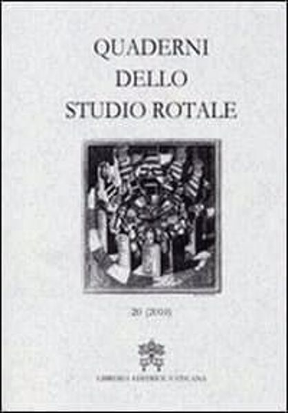 Immagine di Quaderni dello Studio Rotale, Vol. 17 (2010) Tribunale della Rota Romana
