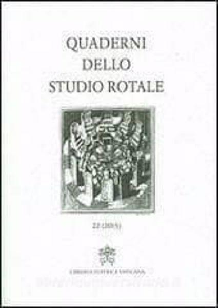 Picture of Quaderni dello studio rotale, Vol.22 (2015)
