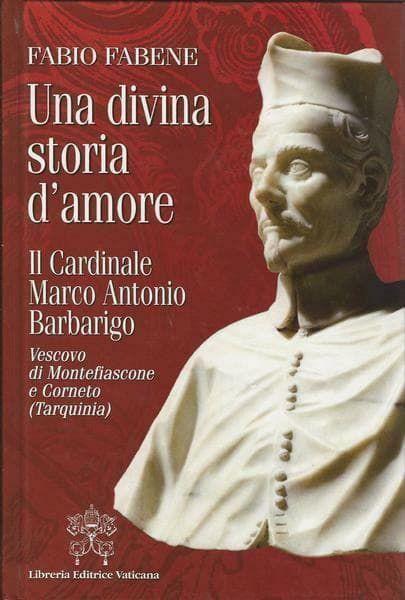 Imagen de Una divina storia d' amore. il Cardinale Marco Antonio Barbarigo, Vescovo di Montefiascone e Corneto (Tarquinia) Fabio Fabene