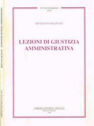 Immagine di Lezioni di giustizia amministrativa Ermanno Graziani