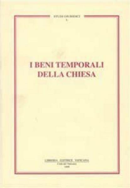 Picture of I beni temporali della Chiesa